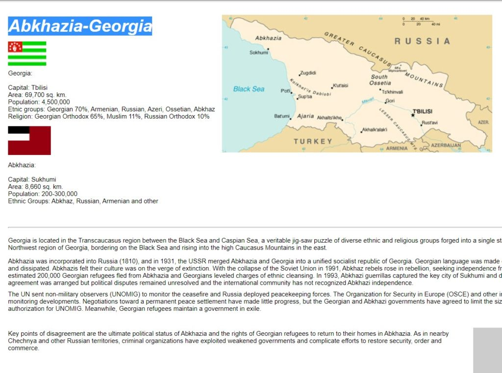 Abkhazia-Georgia